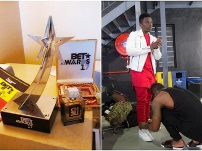 Diamond Platnumz's protégé Rayvanny bags a BET award, making East Africa proud