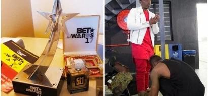 Diamond Platnumz's protégé Rayvanny bags a BET award, making East Africa proud