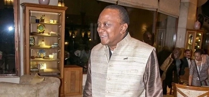 PHOTOS: President Uhuru Embraces More Of Indian Culture With Full Attire