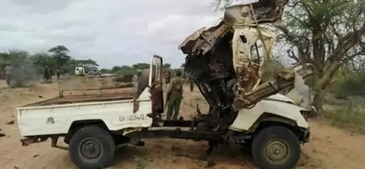 Al-Shabaab wawaua KIKATILI maafisa wa polisi wa Kenya (picha)