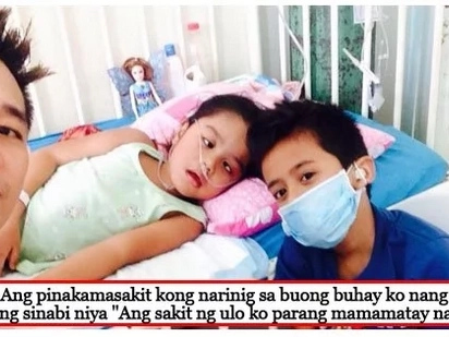 May pag-asa pa! 6-year-old girl suffering from brain tumor shows bravery and enthusiasm despite her health condition
