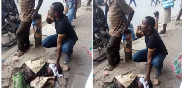 Kind-hearted man becomes instant celebrity by saving a street boy from death (photos)