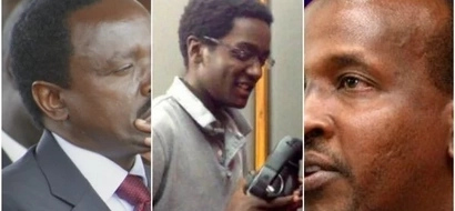 Photos of Kalonzo's son who has brought sharp DIVISON in Wiper