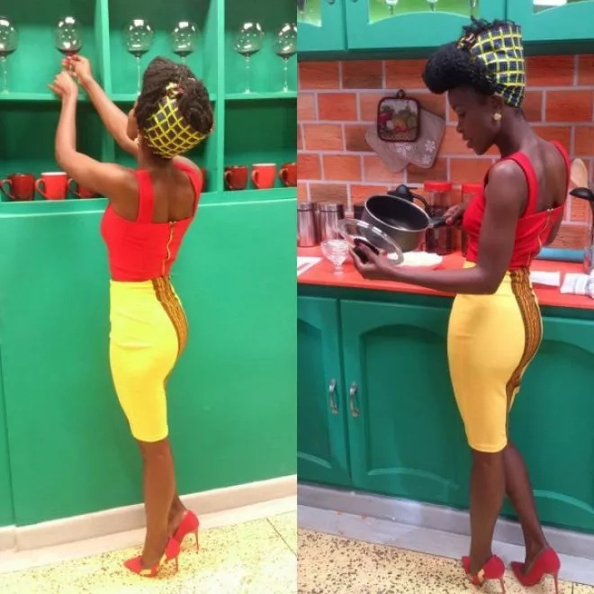 Here are six photos that give a different side of actress Awinja