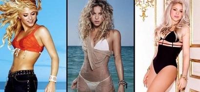 Esta es la dieta de Shakira para tener un vientre plano