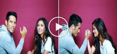 Watch Gerald Anderson & Kim Chiu battle each other in epic arm wrestling match! The result of their battle will shock you!