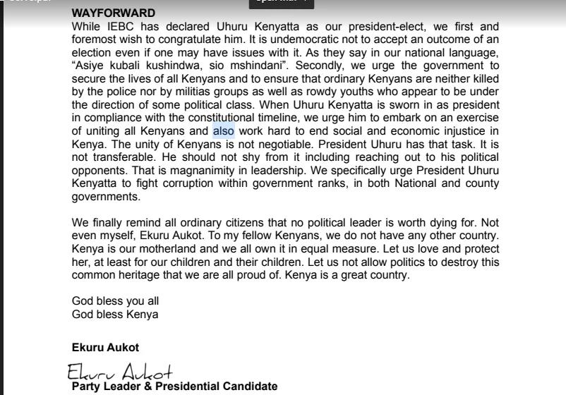 Nafasi ya Raila serikalini yachukuliwa baada ya ushindi wa UhuRuto