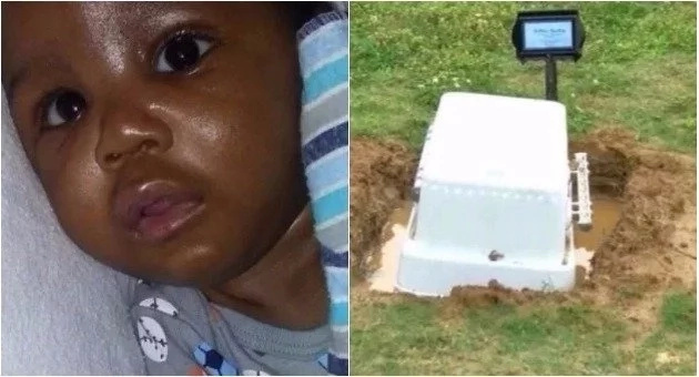 Parents came to the cemetery to visit their baby after that mom can't sleep peacefully