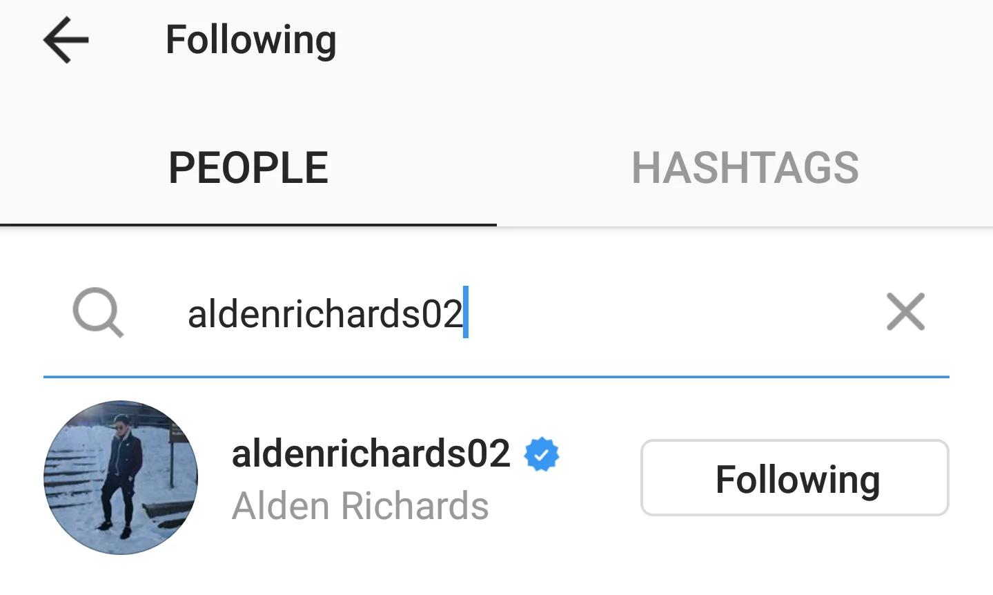 Echosera ka daw! Maine Mendoza follows back Alden Richards, netizens are not convinced that it was an accident