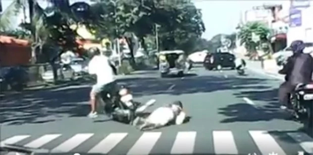 Lola literally hit-and-run by reckless motorist