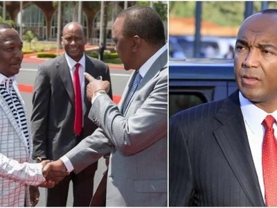 Forget it - Peter Kenneth responds to Uhuru's call to step down