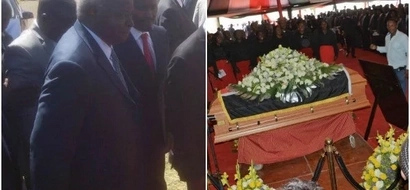 Kibaki's INCOHERENT speech at Gachagua's funeral leaves Kenyans confused