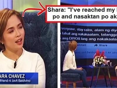 Jovit Baldivino's ex-partner Shara Chavez reveals her side of the story in explosive interview: 'Nagtiis po ako ng sobrang dami... Sobrang sakit!'