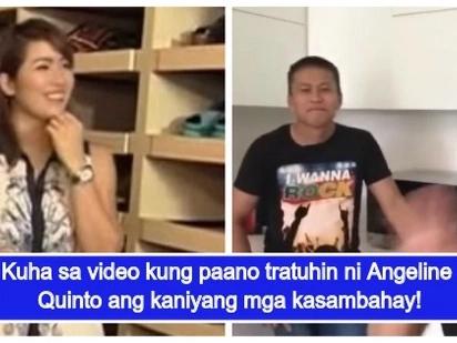Video ng bonding ni Angeline Quinto at ng kaniyang mga kasambahay, nagviral sa social media