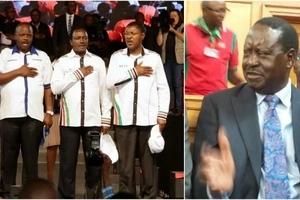 Ruto reveals why NASA principals picked Raila as flag-bearer