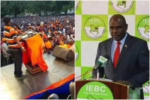 After suing IEBC, NASA gets first WIN from court ruling