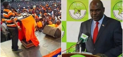 Show us the names of military officers, IEBC tells NASA