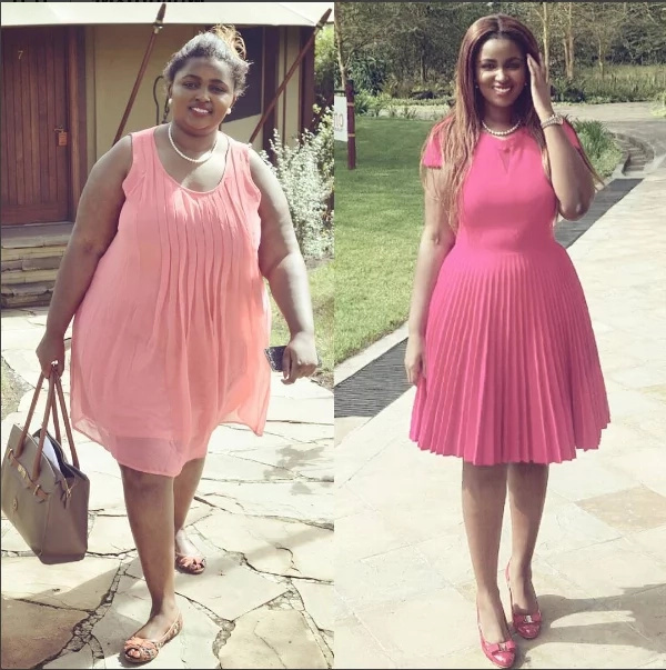 daugher to Kenya's richest woman looks stunngly HOT in tight pants after battling weight loss
