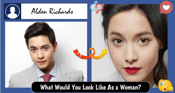 Yung mga guys, pretty rin as girls! Local Celebrities still look great after using facebook's latest craze