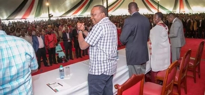 Uhuru took down Mudavadi's performance in one sentence, and everyone is talking about it