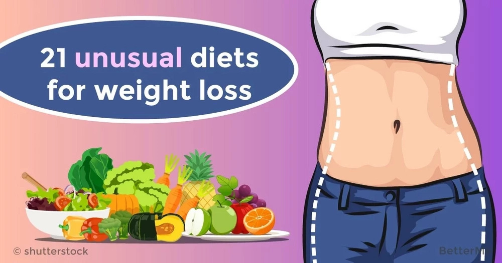 21 unusual diets for weight loss