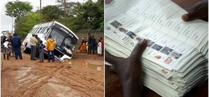 Just in: Voting materials destroyed in Kitui Central