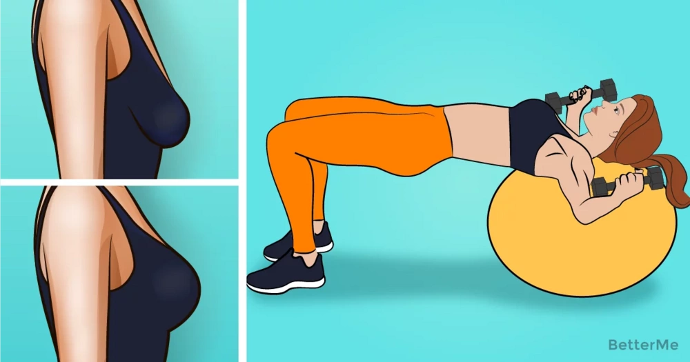 5 chest exercises can help lift your breasts at home