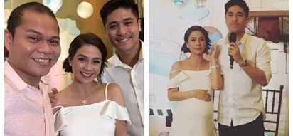 Ang swabe ng pangalan! Kaye Abad and Paul Jake Castillo finally revealed the name of their baby during baby shower