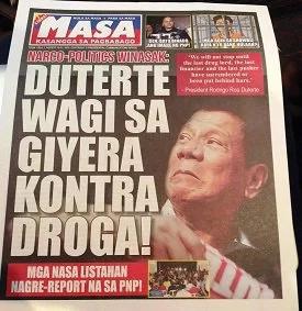 Netizens bash Malacañang tabloid