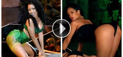Rihanna vs Nicki Minaj: Find out which one of these singers has the hottest twerk skills (video)