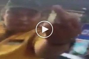 Rude Makati traffic enforcer throws middle finger at driver for allegedly failing to extort money