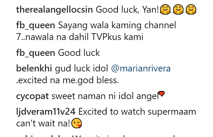 Angel Locsin gives message to Marian Rivera regarding her new GMA-7 show