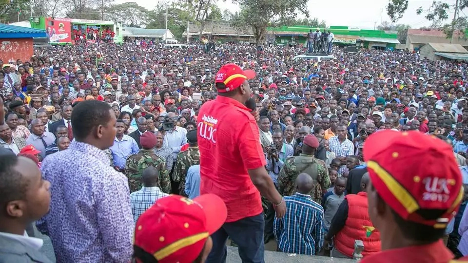 Raila's fear of defeat should not mess with poll – Uhuru declares as he sends warning to NASA demonstrators