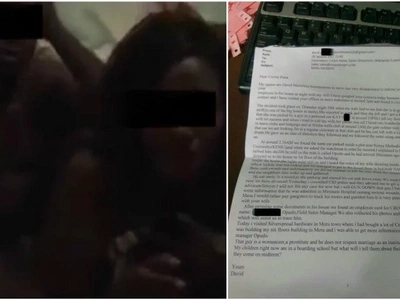RED Email of Meru businessman to employer of man he found in bed with his wife (photo)