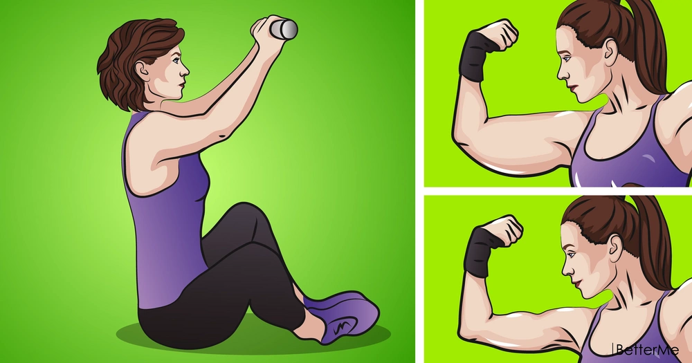 7 arm workouts to get rid of flabby triceps