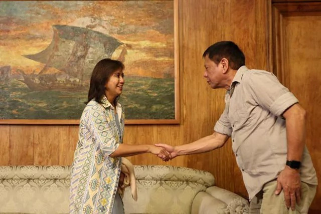 Robredo denies Duterte's accusation of upheaval