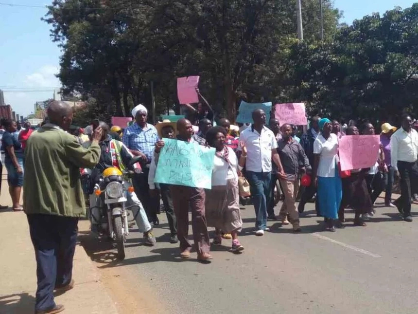 Ruto supporters protest over Kabogo comments