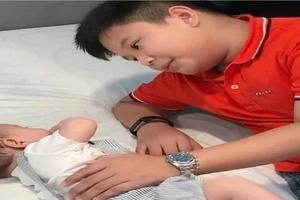 Salamat kay Kris Aquino! James Yap lubos na lumigaya sa unang pagtatagpo ni Bimby at baby MJ