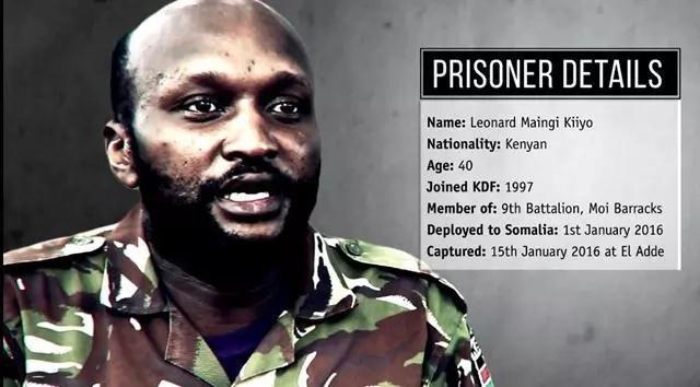 Video emerges of KDF soldier captured during El Adde attack