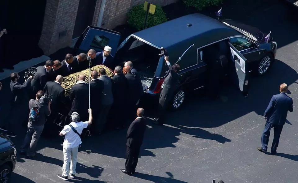 Muhammad Ali's requiem procession in photos