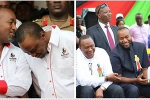 9 photos of Uhuru and Joho that will make you rethink their love-hate politics