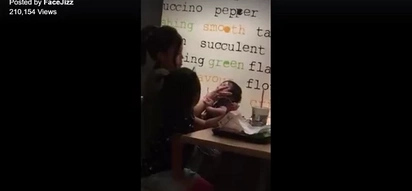 WATCH: Woman abusing baby in McDonald's will break your heart