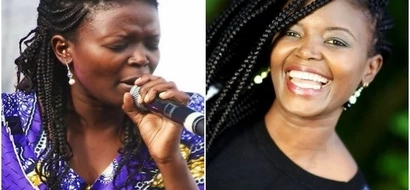 Gospel singer Eunice Njeri introduces her youthful mum, and Kenyans can't help but gush over her (Photo)