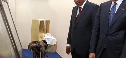 Barack Obama Left Behind Uhuru Kenyatta's Gifts
