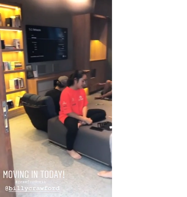 Yayamanin talaga! Billy Crawford and Coleen Garcia can finally enjoy the fruits of their labor as they move into new home