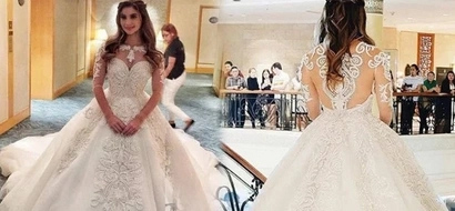 This is what Anne Curtis will be wearing on her wedding day - so lovely