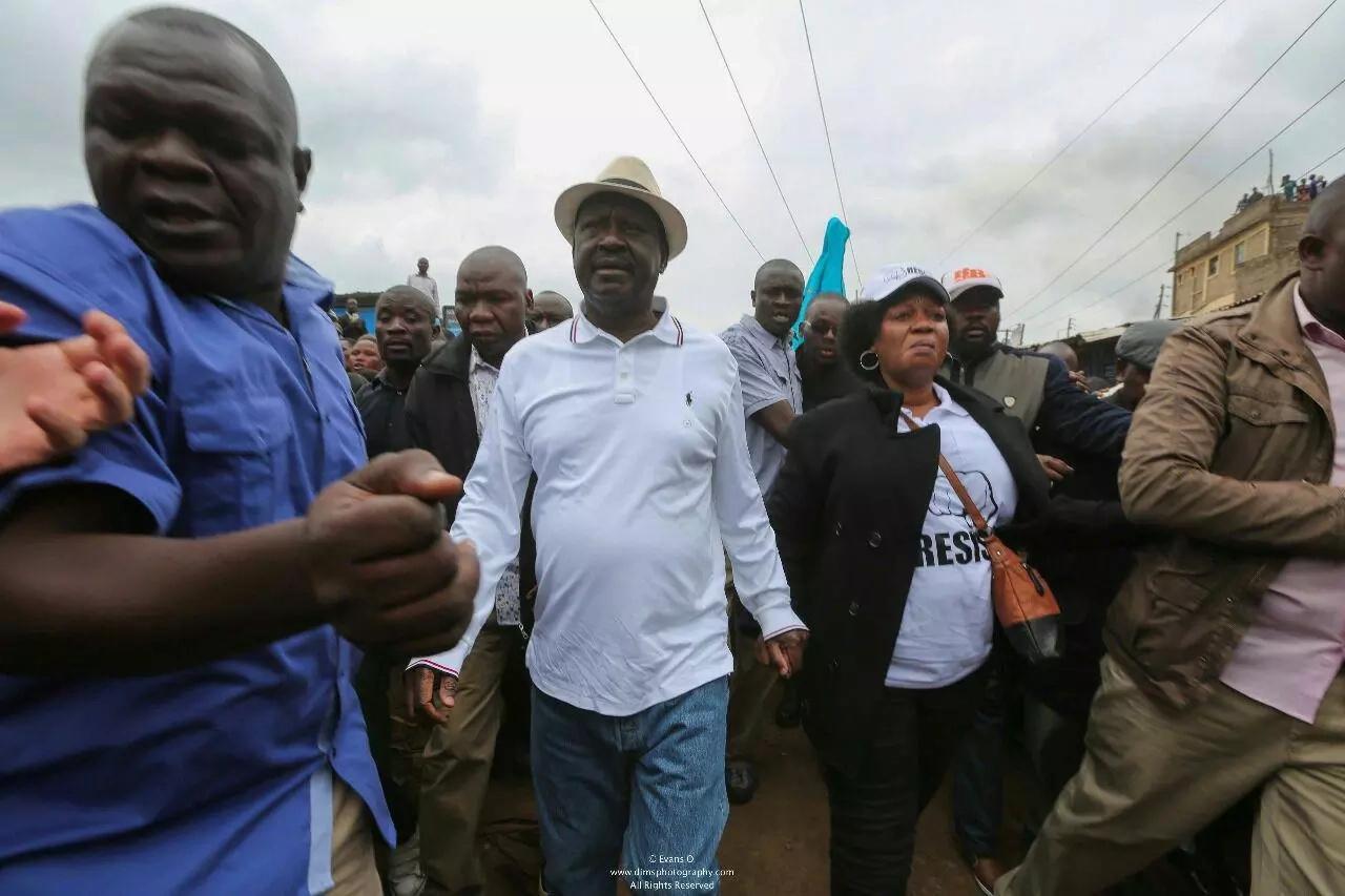 Intervene now and save Kenya from sliding into turmoil-Raila pleads with international community