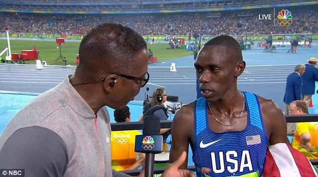 Olympian's face after he was disqualified will break your heart