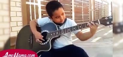 Con solo 6 años este niño hondureño hace el mejor cover de Metallica. Su interpretación es perfecta