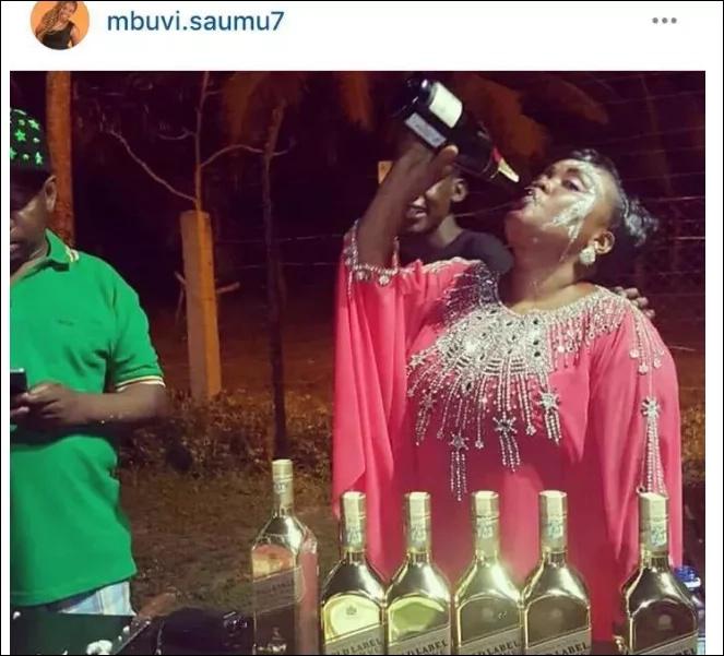 Siku bintiye Sonko alipomsifia mamake kama 'shujaa wa kunywa pombe'
